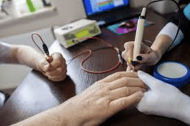 Apparecchio elettronico per Vega test
